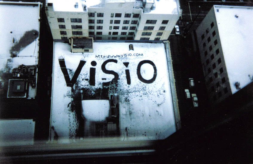 Visio Logo in the Snow